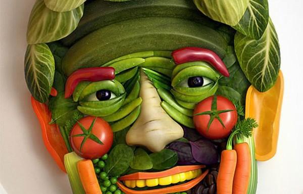 האוכל משעמם? תכניסו קצת צבע וצורות למנות שלכם וזה מה שתקבלו…