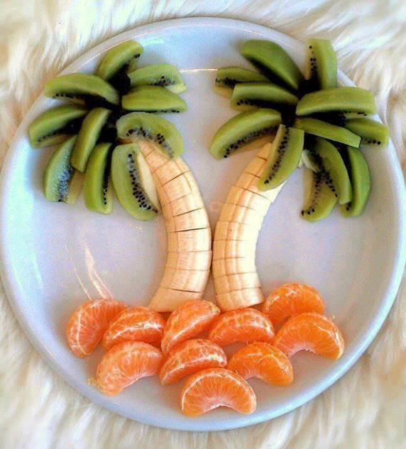 Food-Art-Palm-Trees