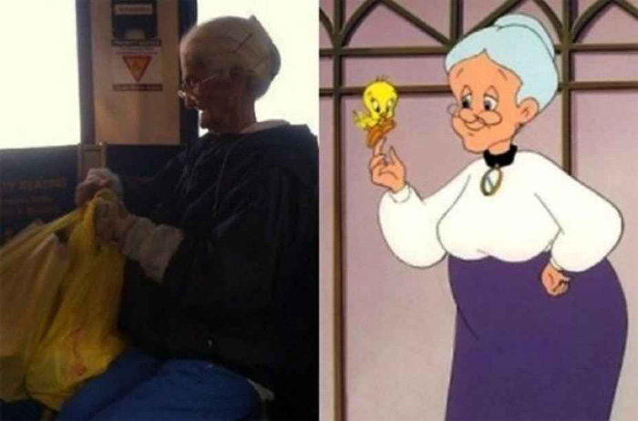 Granny – Tweety