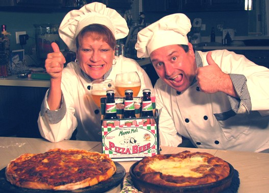 Tom-and-Athena-Seefurth-mama-mia-pizza-beer