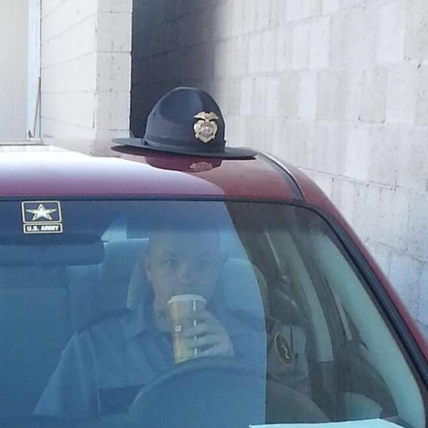 stupid cop