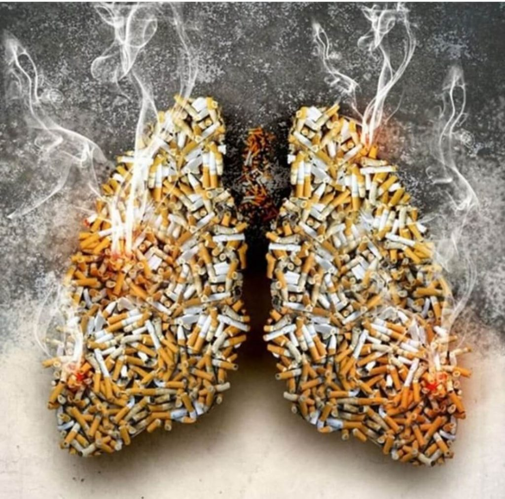 להפסיק לעשון - ראות מלאות בסיגריות