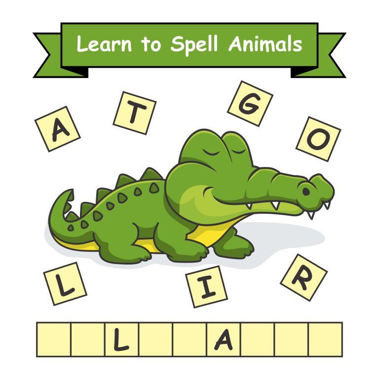 """ללמוד לכתוב באנגלית - למשל """"תנין"""""""