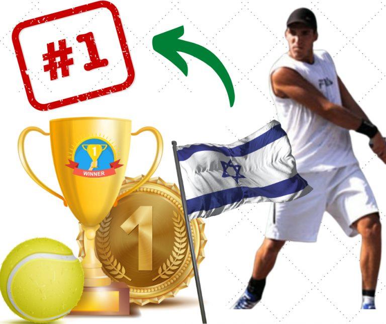 עידן רוזנברג אלוף ישראל בטניס