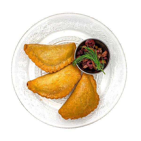 סמבוסק במילוי חומוס