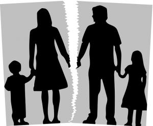 הורים מתגרשים עם ילדים