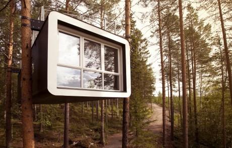 10 תמונות של בתי עץ