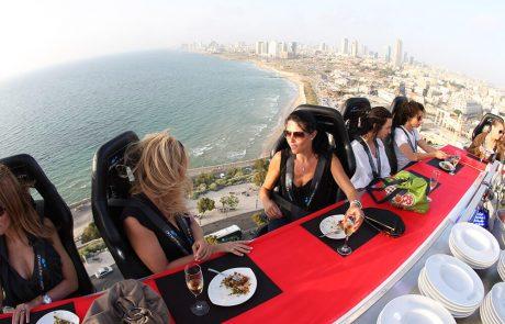 ארוחת ערב בשחקים – מה קורה שהשף מגיש לכם אוכל גורמה בגובה 139 מטר