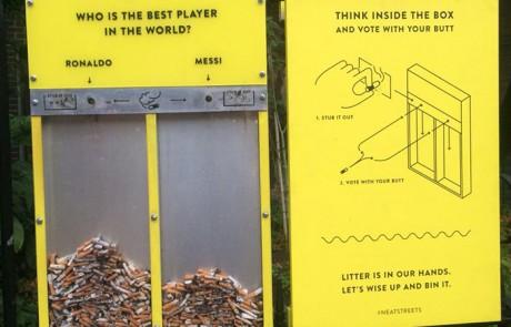 איזה רעיון גדול!!!! את זה אתם חייבים לראות! כיצד לשמור על המדרכה נקיה מבדלי סיגריות…