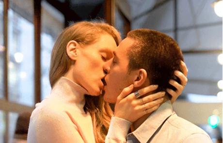 הנשיקה הכי ארוכה שראיתי אי פעם
