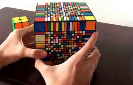 כמה זמן לוקח לפתור את הקוביה ההונגרית הכי גדולה בעולם?