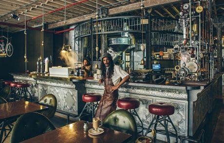 עיצוב בית קפה (שחור) בדרום אפריקה. למה לא בארץ?